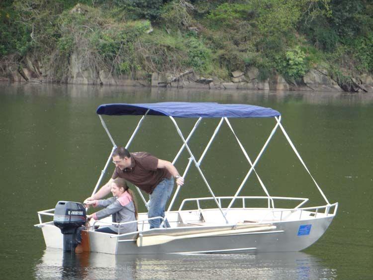 Barco de pesca - Barco de alumínio - Acessórios para barcos  (12)