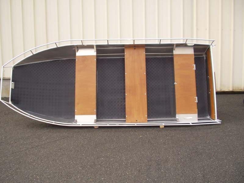 Barco de pesca de alumínio (3)