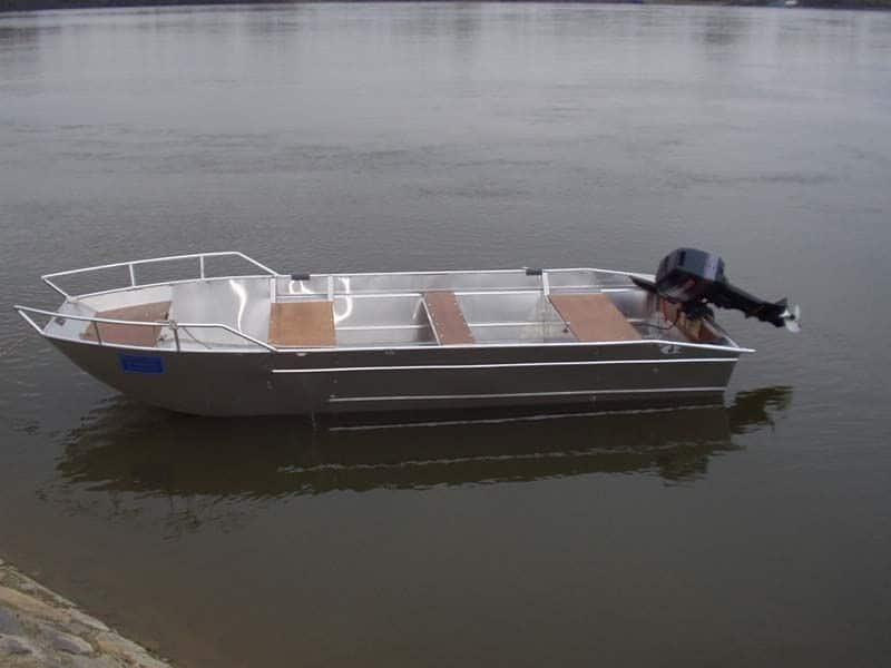 Barco de pesca de alumínio (7)