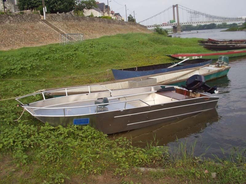 Barco pesca de alumínio (1)