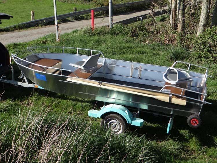 Barco pesca de alumínio (100)
