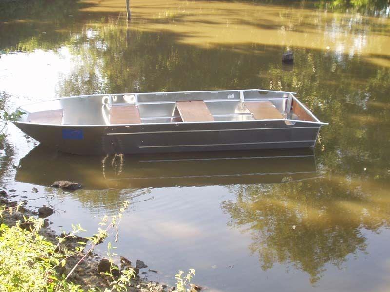 Barco pesca de alumínio (101)