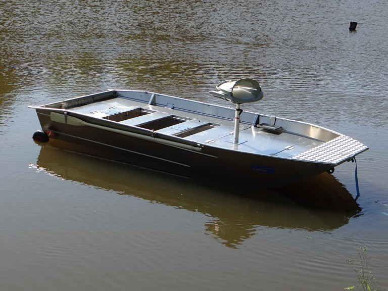 Barco pesca de alumínio (112)