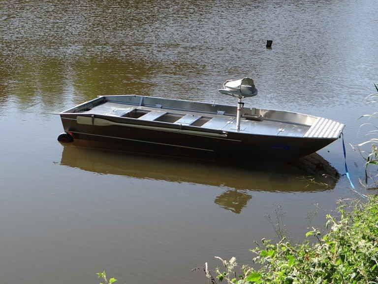 Barco pesca de alumínio (114)