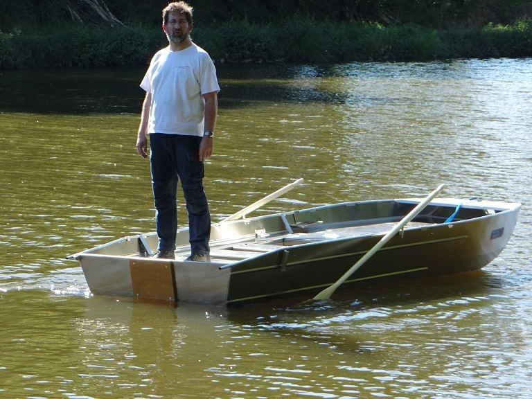 Barco pesca de alumínio (115)