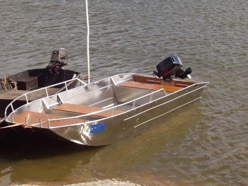 Barco pesca de alumínio (2)