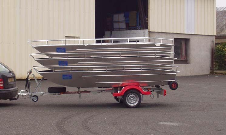 Barco pesca de alumínio (4)