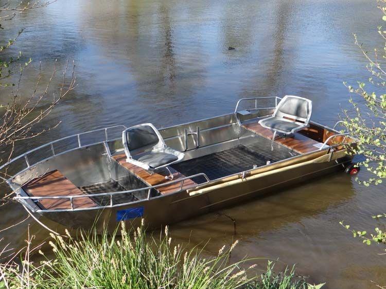 Barco pesca de alumínio (99)
