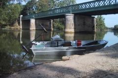 Barco pesca de alumínio (105)