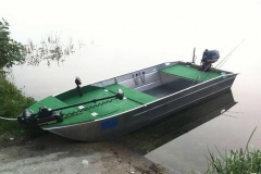 Barco pesca de alumínio (110)