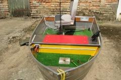 Barco pesca de alumínio (116)