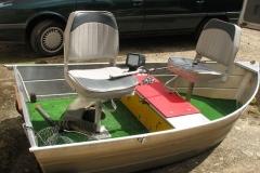 Barco pesca de alumínio (118)