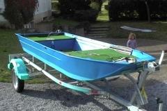 Barco pesca de alumínio (119)