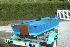 Barco pesca de alumínio (120)