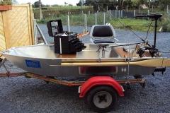 Barco pesca de alumínio (132)