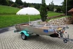 Barco pesca de alumínio (134)
