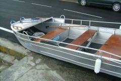 Barco pesca de alumínio (137)