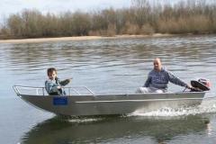 Barco pesca de alumínio (139)