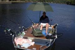 Barco pesca de alumínio (140)