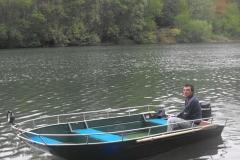 Barco pesca de alumínio (149)
