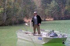 Barco pesca de alumínio (154)