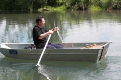 Barco pesca de alumínio (156)