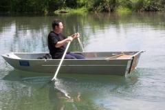Barco pesca de alumínio (158)