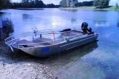 Barco pesca de alumínio (164)