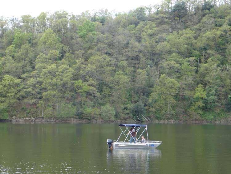Barco de pesca de alumínio (2)