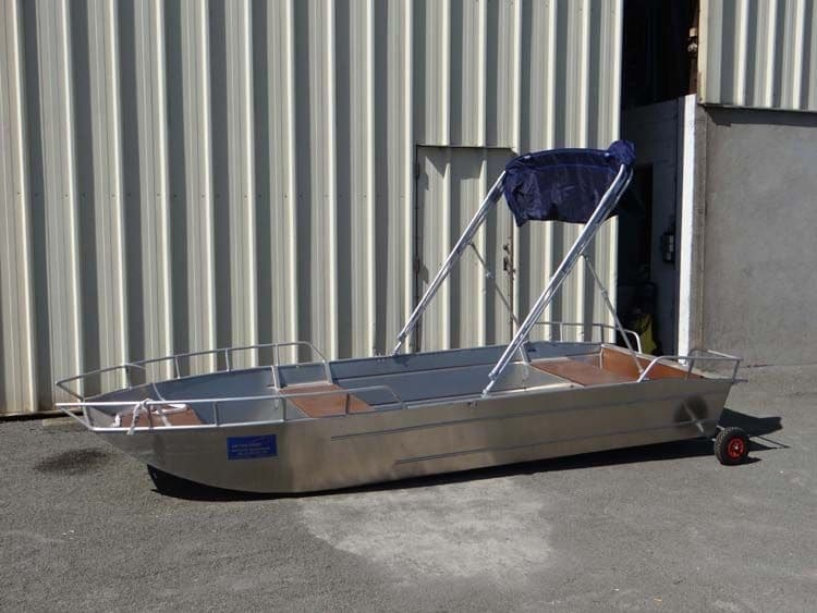 Barco de pesca de alumínio (8)