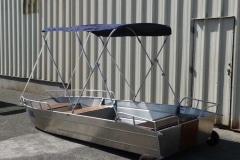 Barco de pesca de alumínio (10)