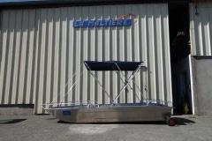 Barco de pesca de alumínio (6)