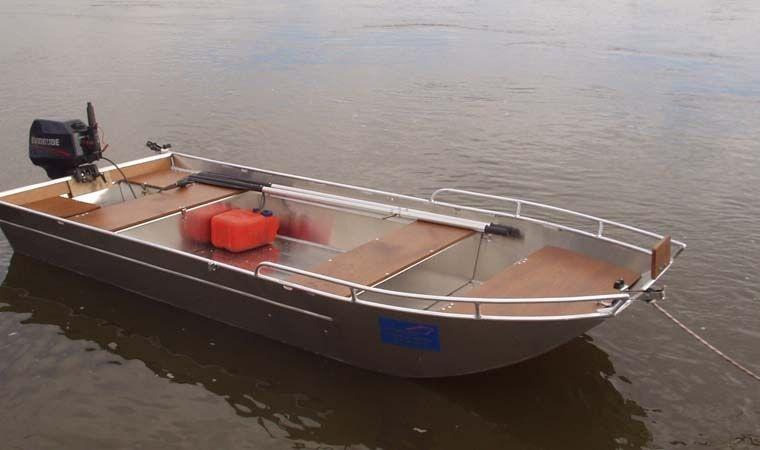 Barco de alumínio para pesca (12)