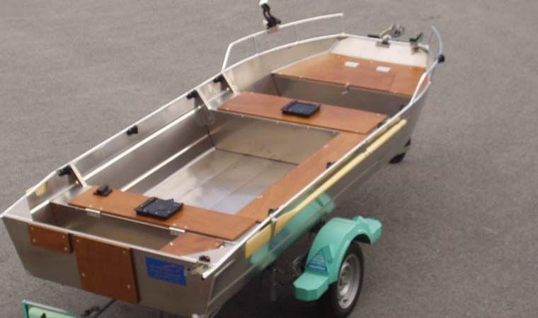 Barco de alumínio para pesca (15)