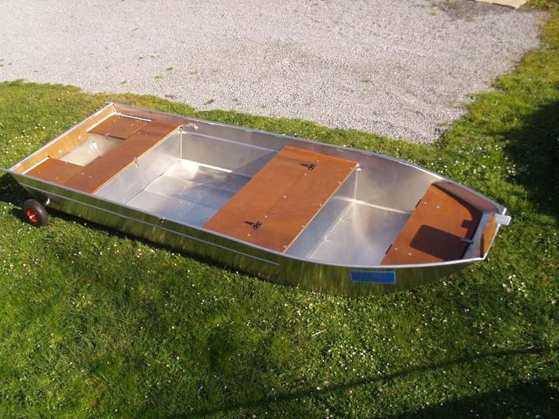 Barco de pesca em alumínio (25)