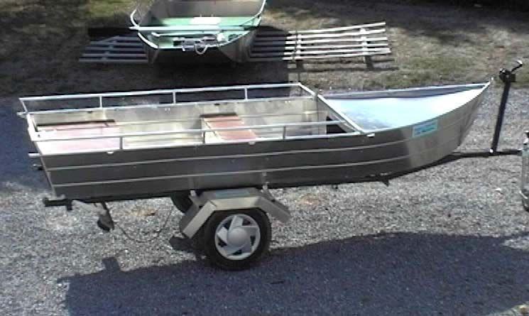 Barco de alumínio para pesca (28)