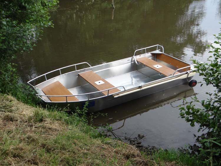Barco de alumínio para pesca (6)