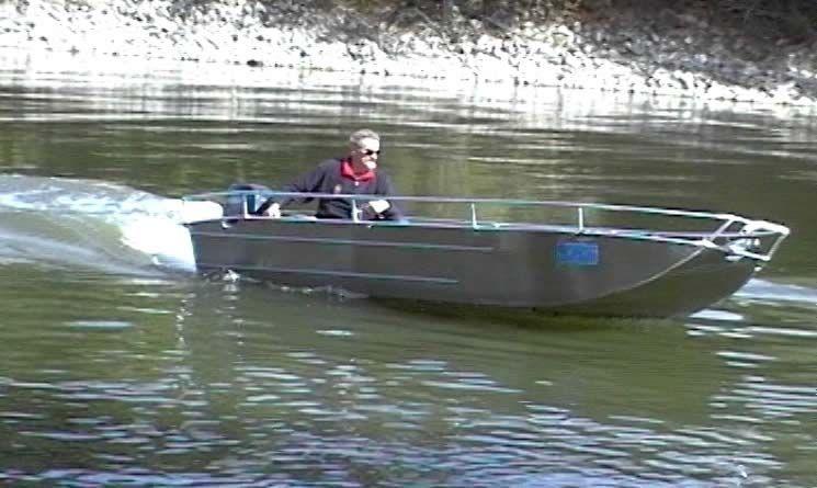 Barco de alumínio para pesca (1)