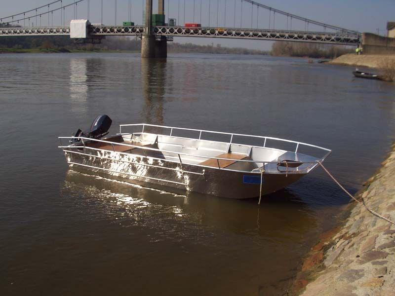 Barco de alumínio para pesca (11)