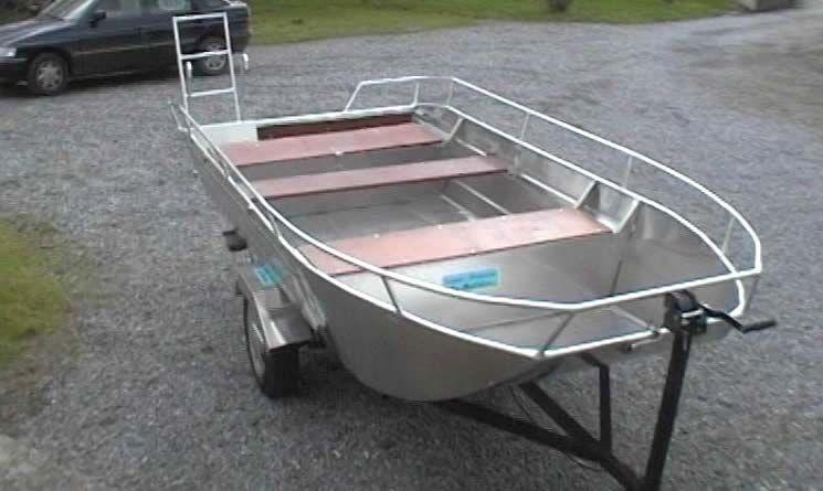 Barco de alumínio para pesca (19)