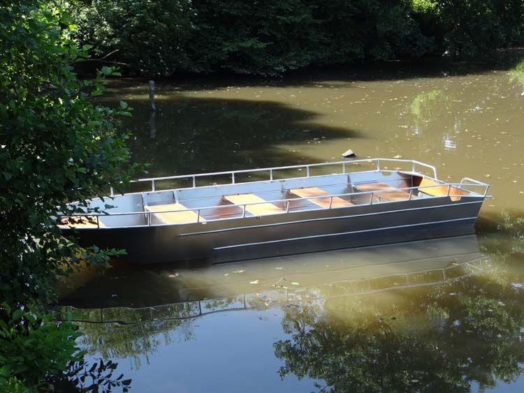 Barco de alumínio para pesca (2)