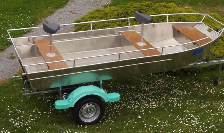 Barco de alumínio para pesca (22)