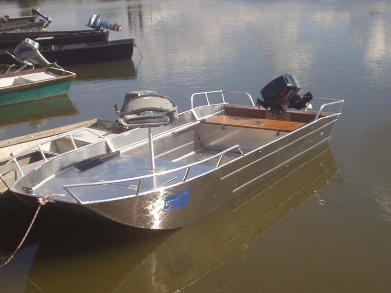 Barco de alumínio para pesca (104)