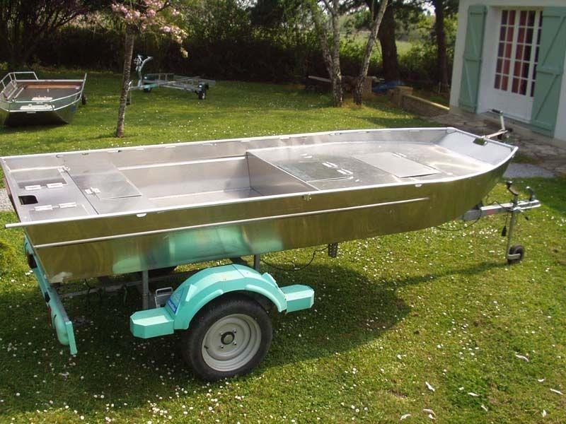 Barco de alumínio para pesca (105)