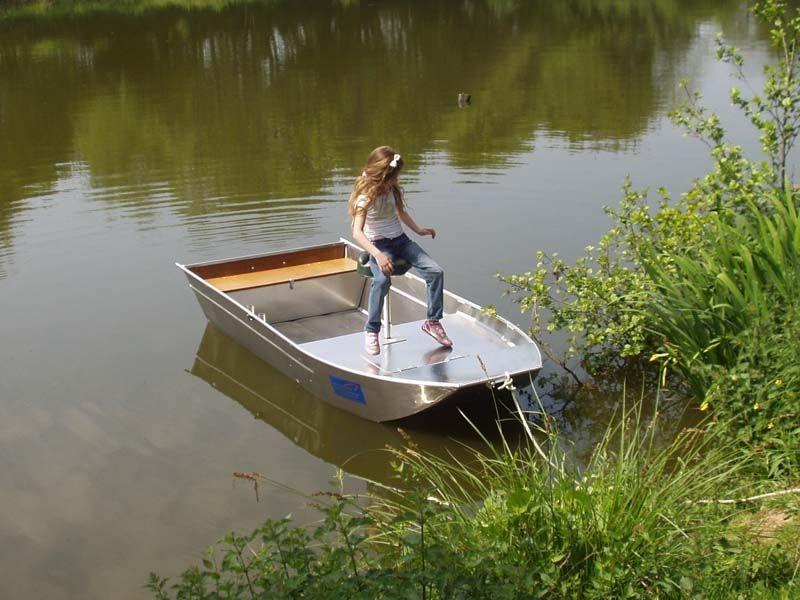 Barco de alumínio para pesca (106)