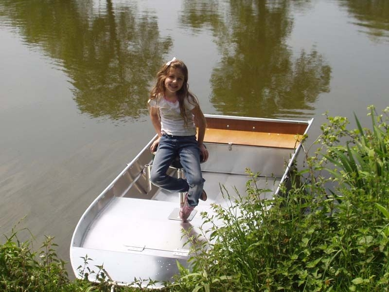 Barco de alumínio para pesca (107)