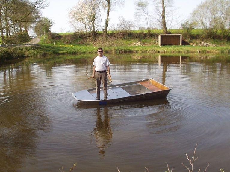 Barco de alumínio para pesca (26)