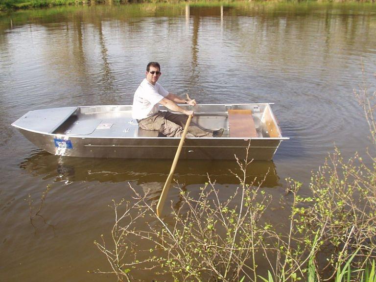 Barco de alumínio para pesca (27)