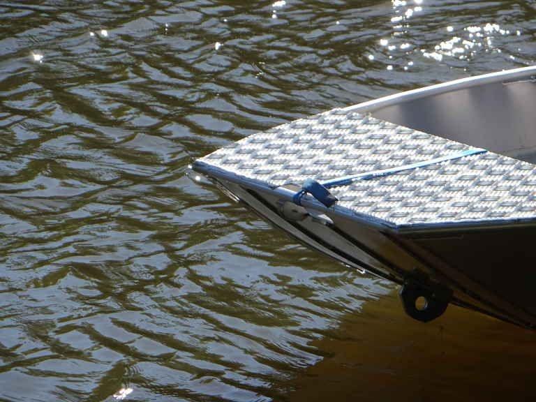 Barco de alumínio para pesca (36)