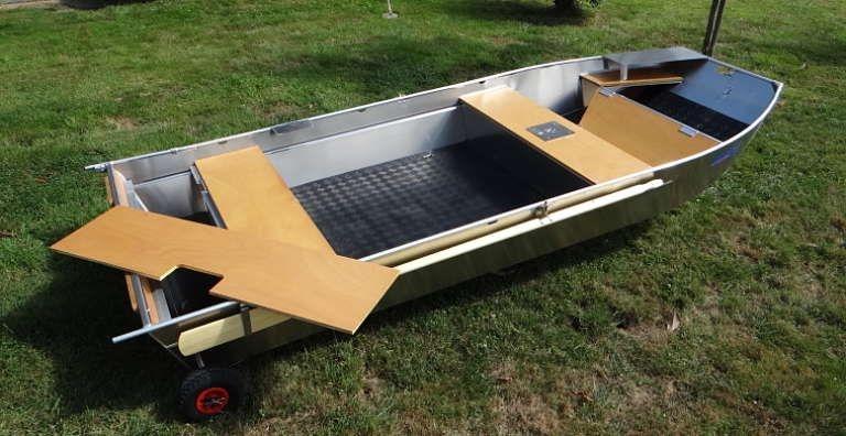 Barco de alumínio para pesca (37)
